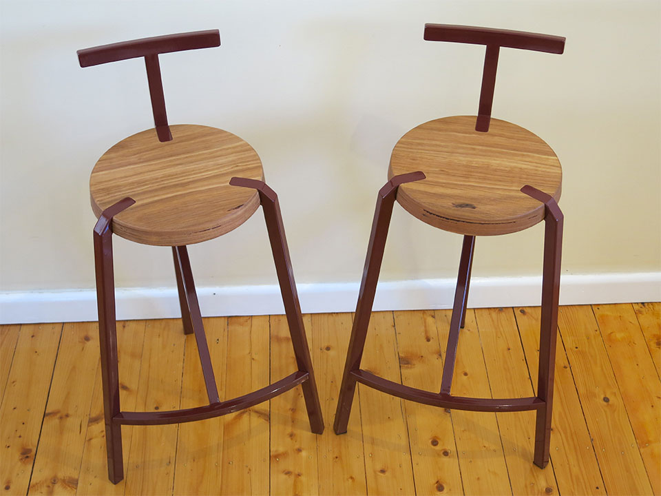 Handcrafted stools