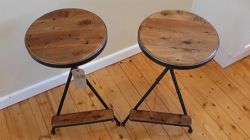 Murray Pine bespoke stools
