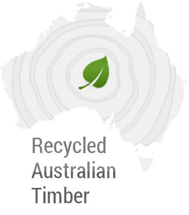 Image of recycled Australian timber graphic