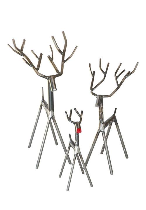 Metal Reindeers gift
